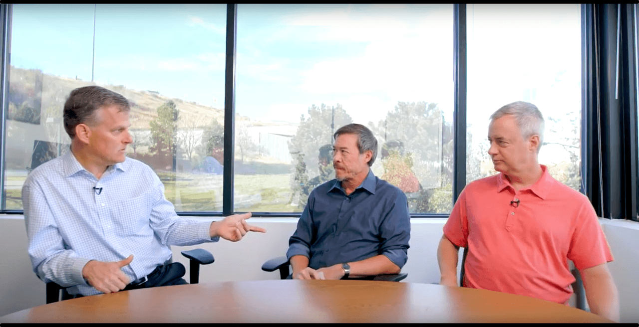 Members of Phase Change's management team discuss bridging knowledge silos